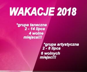 wolne miejsca 2018 kwadrat białe
